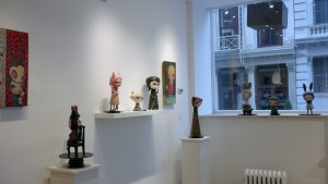 Cirque Noir exhibition - Gallery overview