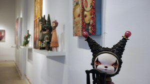 Cirque Noir exhibition - Kathie Olivas' Two Faced Girl Series: Harley