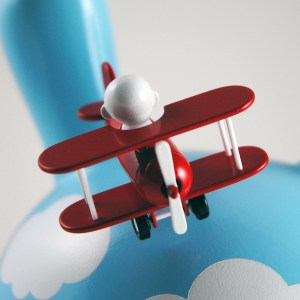 Clark's DayDream Studio - Flying High Custom Dunny (detail)