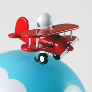 Clark's DayDream Studio - Flying High Custom Munny (detail)