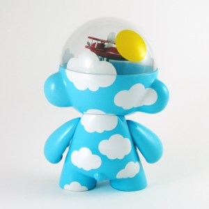 Clark's DayDream Studio - Flying High: Head in the Clouds Custom Munny (rear)