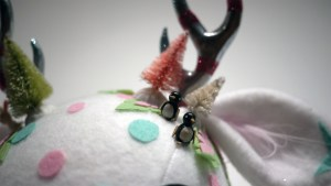 Stitch of Whimsey's Happy Holi-deer from Gift Wrapped 2016 at The Clutter Gallery