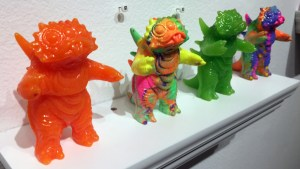 Twistybitz's Bootleg King Molerats from Gift Wrapped 2016 at The Clutter Gallery