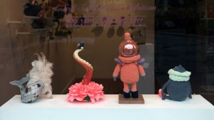 Stitched 2 Exhibition - Window Display (outside)