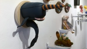Stitched 2 Exhibition - Twee Muizen's Orca