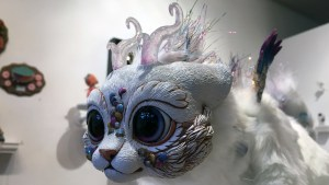 Stitched 2 Exhibition -Lisa Toms' Carnival the Chibi Dragon Spirit