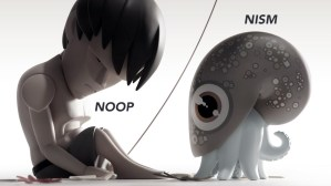 Coarse's Noop and Nism characters
