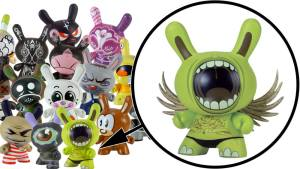 Deph's Big Mouth Dunny from Series 2, 2005
