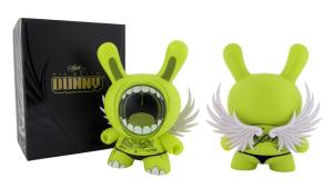 """Deph's Big Mouth 8"""" Dunny, 2006"""