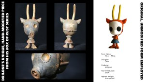 DrilOne's Box of Rust custom blind boxed series, Ohm's Tcho!: Moko