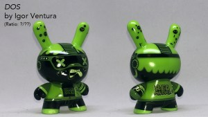 Igor Ventura's The Gamer DOS Chase Variant Dunny