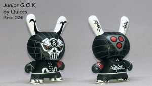 Quiccs' Junior G.O.K. (Ghost of Kurosawa) Dunny