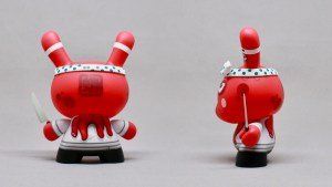 The Tako's Revenge Dunny by Fakir & Kidrobot