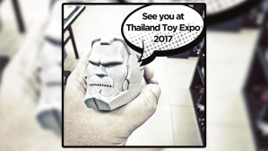 Fools Paradise's I Won't Be A Robot, Lee - prototype at Thailand Toy Expo 2017