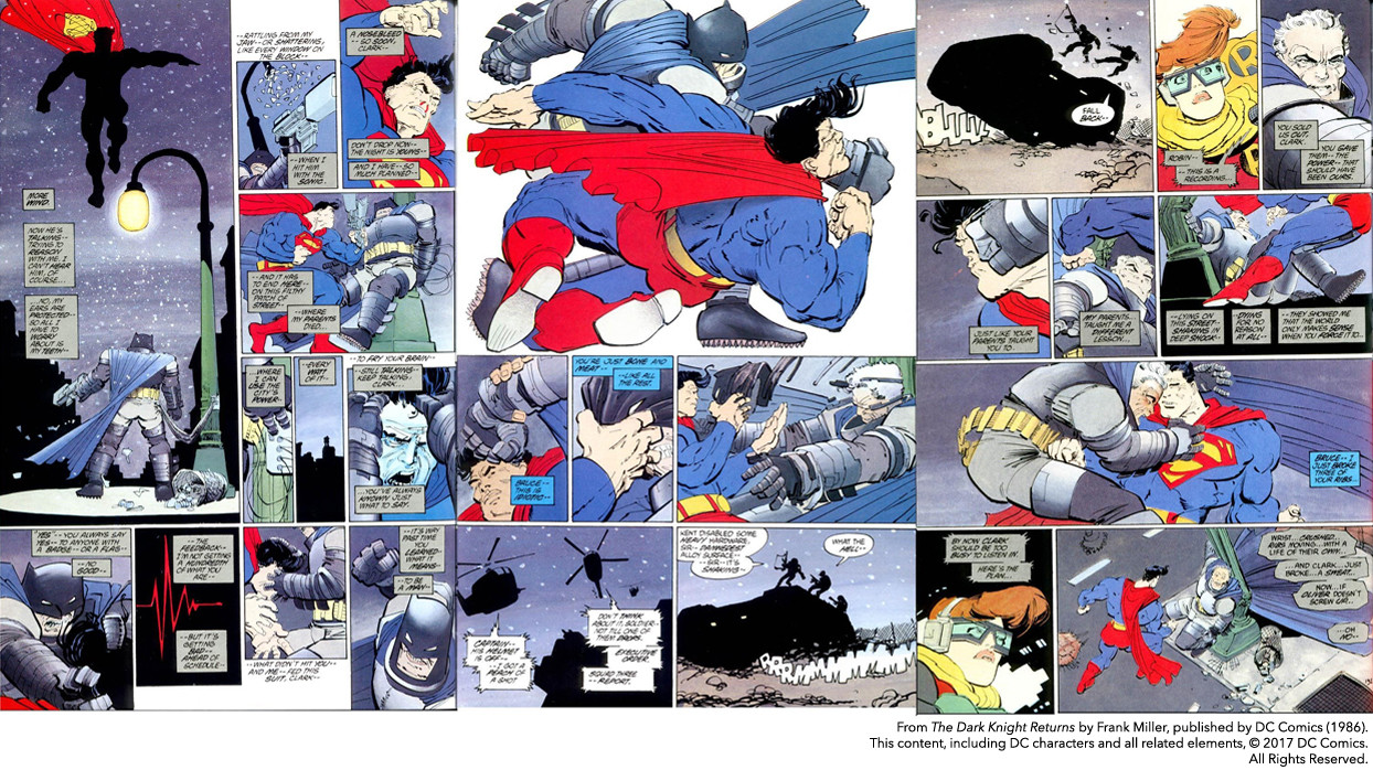 Frank Miller's The Dark Knight Returns (copyright DC Comics)