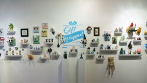 Clutter Magazine Gallery's Gift Wrapped 2017 - Exhibition Overview