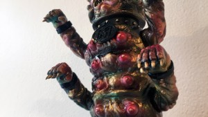 The Great Unknown exhibition - Seymour - Mega Manky (Bronze)