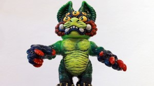 The Great Unknown exhibition - Remjie - June Green Doro Kaiju