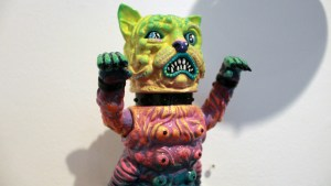 The Great Unknown exhibition - Remjie - Toxic Splash Mankey Neko