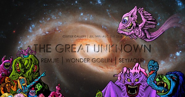 Seymour, Wonder Goblin & Remjie's The Great Unknown