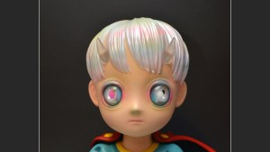 Hikari Shimoda's Children of This Planet sculpture from APPortfolio, front (detail)