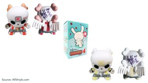 Huck Gee's Gold Life: Soul Collector Review —Dunny, Series 4: Skullhead