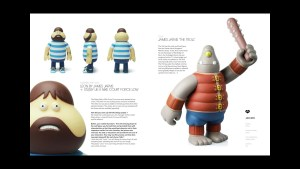 James Jarvis' Designer toy examples, circa 2006-2011