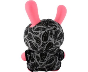 INSA's Graffiti Fetish Dunny - Pink regular version (back)