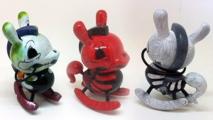 "Igor Ventura's The Death of Innocence (Decayed, Redwood & Whitewood) 3"" Custom Dunnys, 2015"