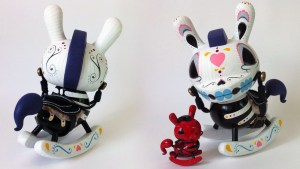 "Igor Ventura's The Death of Innocence (Dia de los Muertos) 8"" Custom Dunnys, 2015"