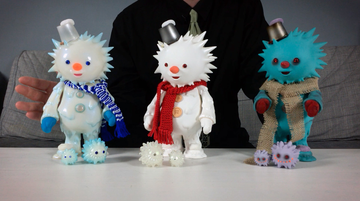 InstincToy's Snowy - Ice World, First Snow & Zombie editions