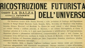 Giacomo Balla & Fortunato Depero's The Futurist Reconstruction of the Universe manifesto, 1915