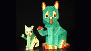 A selection of Louis Wain's Futurist Cats