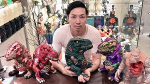 James Groman & InstincToy - King Korpse - Hiroto-san with Rotten Rexx pieces