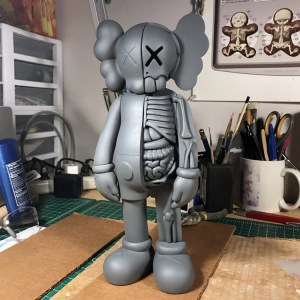 Jason Freeny's Inappropriation (KAWS Companion) - Work in Progress, primer applied