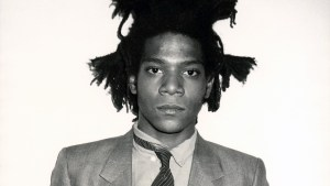 Jean-Michel Basquiat Portrait by Andy Warhol
