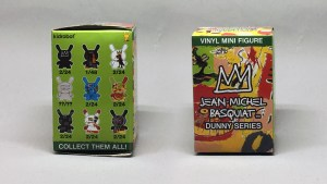 Jean-Michel Basquiat Dunny Series blind box packaging