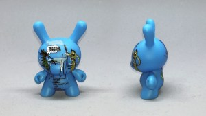 Jean-Michel Basquiat Dunny Series - The Dingoes That Park Their Brains with their Gum