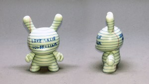 Jean-Michel Basquiat Dunny Series - Love is a Lie