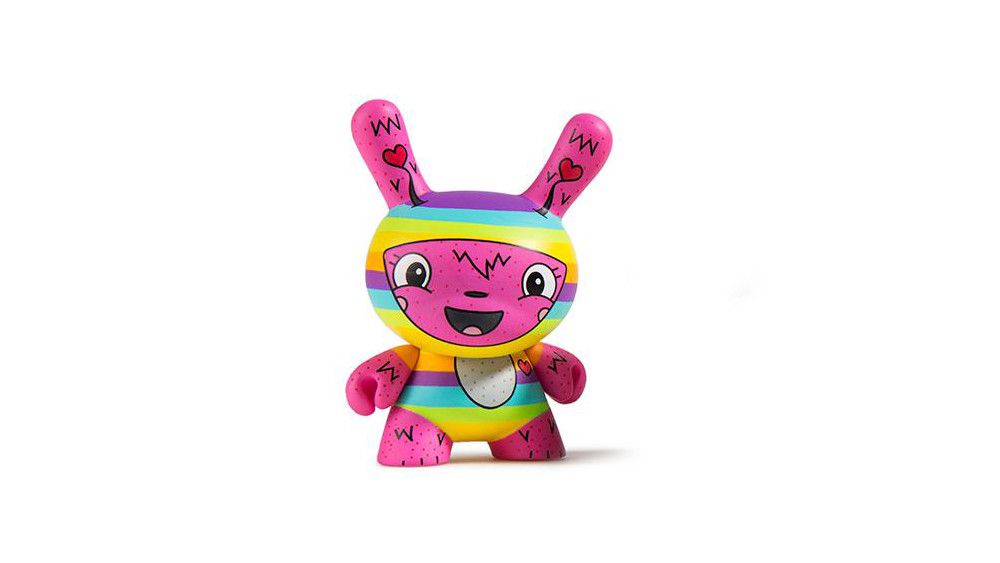 The Bots' Scared Silly Dunny Series from Kidrobot, The Littlest Lovebug, 2017