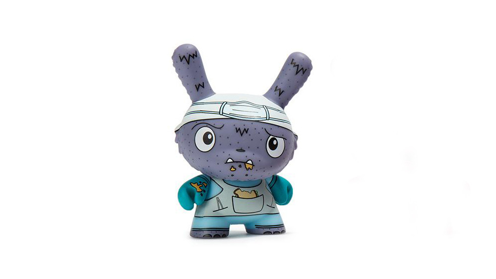 The Bots' Scared Silly Dunny Series from Kidrobot, Lunch Hour, 2017