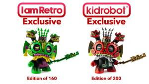 Jesse Hernandez's Tlaloc Dunny from Kidrobot Exclusives