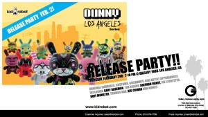 Kidrobot's Dunny Los Angeles Series Release Party at Gallery1988, 2006