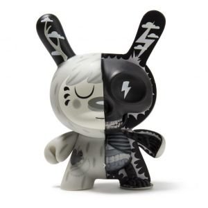 Johnny Draco's Mr. Watt Dunny from Kidrobot - Monotone Version