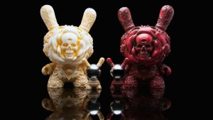 "Jesse Yu/J*RYU's Arcane Divination: 8"" Clairvoyant Dunny from Kidrobot"