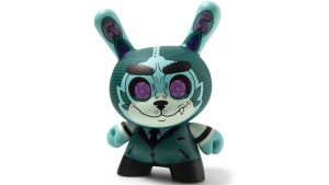 "Josh Divine's Cash Wolf 5"" Dunny from Kidrobot - KR.com Exclusive/Blue Edition"