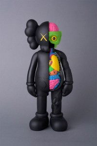 KAWS' Flayed Companion (Open Edition) - Black