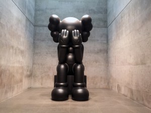 KAWS' Passing Through Companion