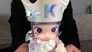 Kennyswork & InstincToy's Erosion Molly - Figure's face