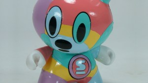 Kidrobot's Dunny Series 2 - Sket One's Hand-Painted Piece
